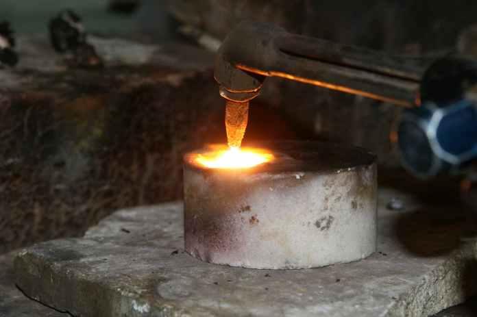 aluminum artisan brass bright